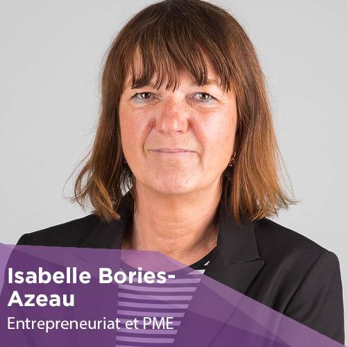 Isabelle Bories-Azeau - Enseignant-Chercheur - Montpellier Management