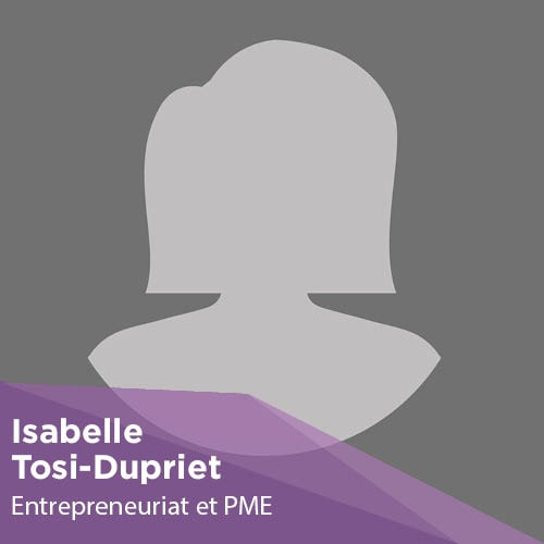 Isabelle Tosi-Dupriet - Enseignant-Chercheur - Montpellier Management