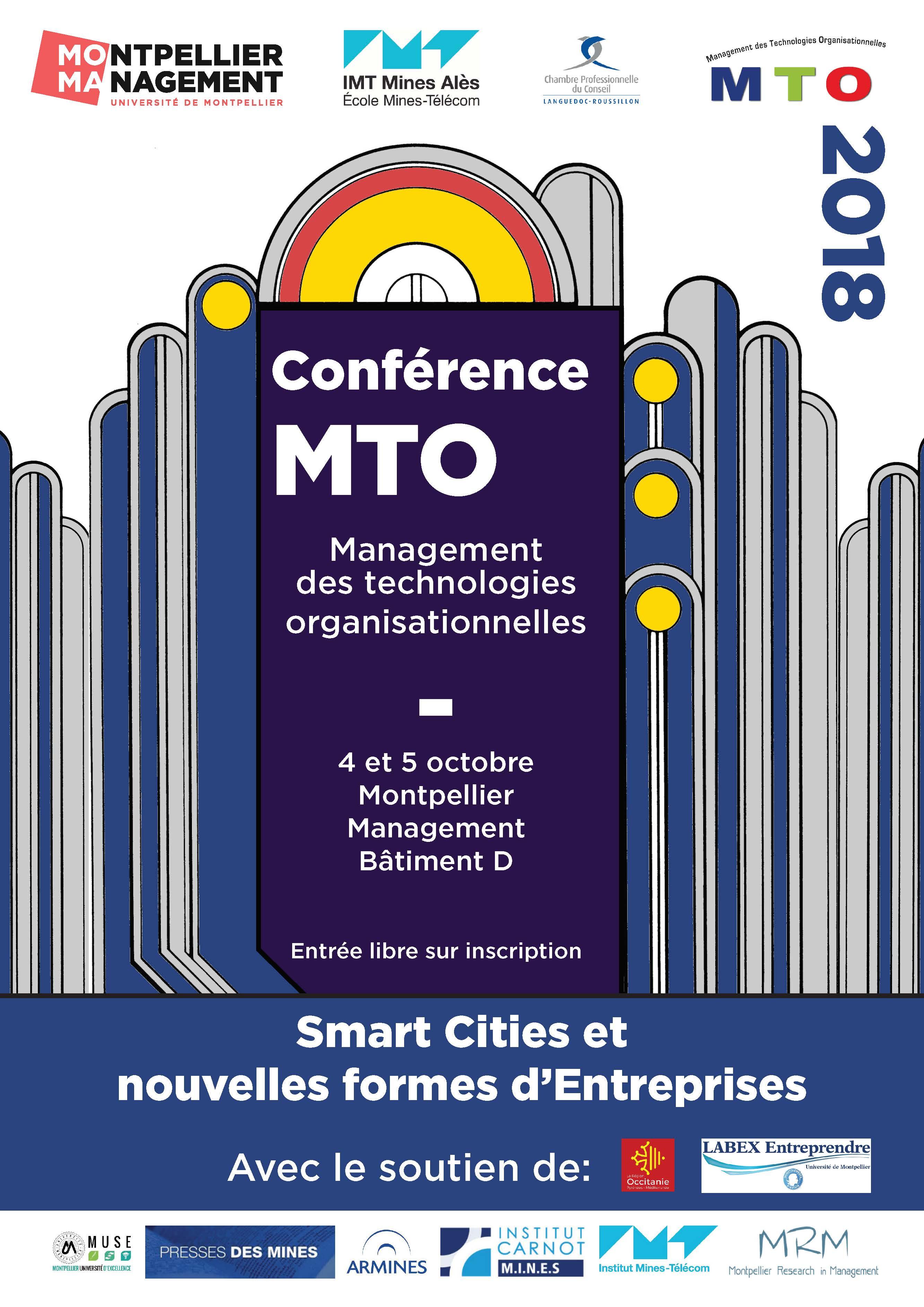 Affiche-Conference-MTO-Management-Technologies-Organisationnelles_Montpellier-Management_2018