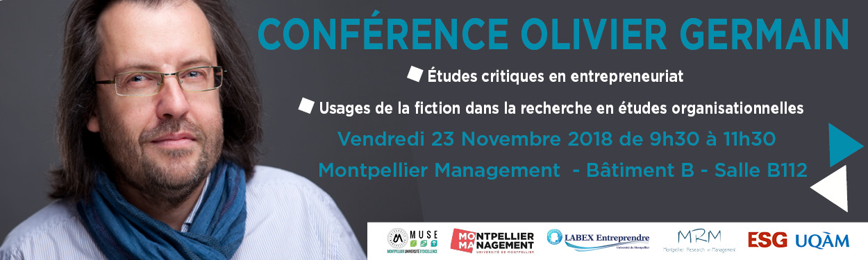Bandeau conference Olivier Germain Montpellier Management