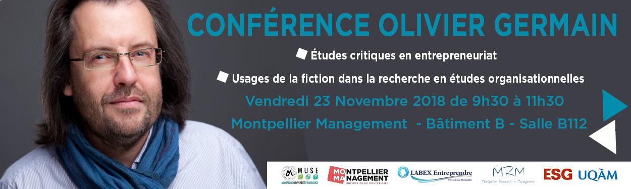 Bandeau conference Olivier Germain Montpellier Management