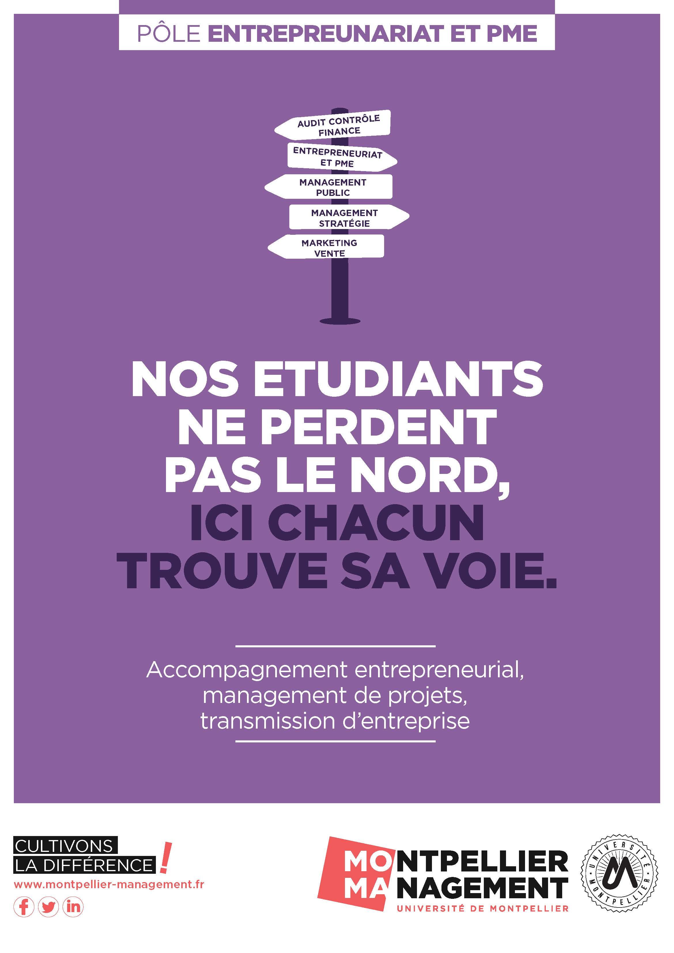 Pole Entrepreneuriat et PME - Montpellier Management