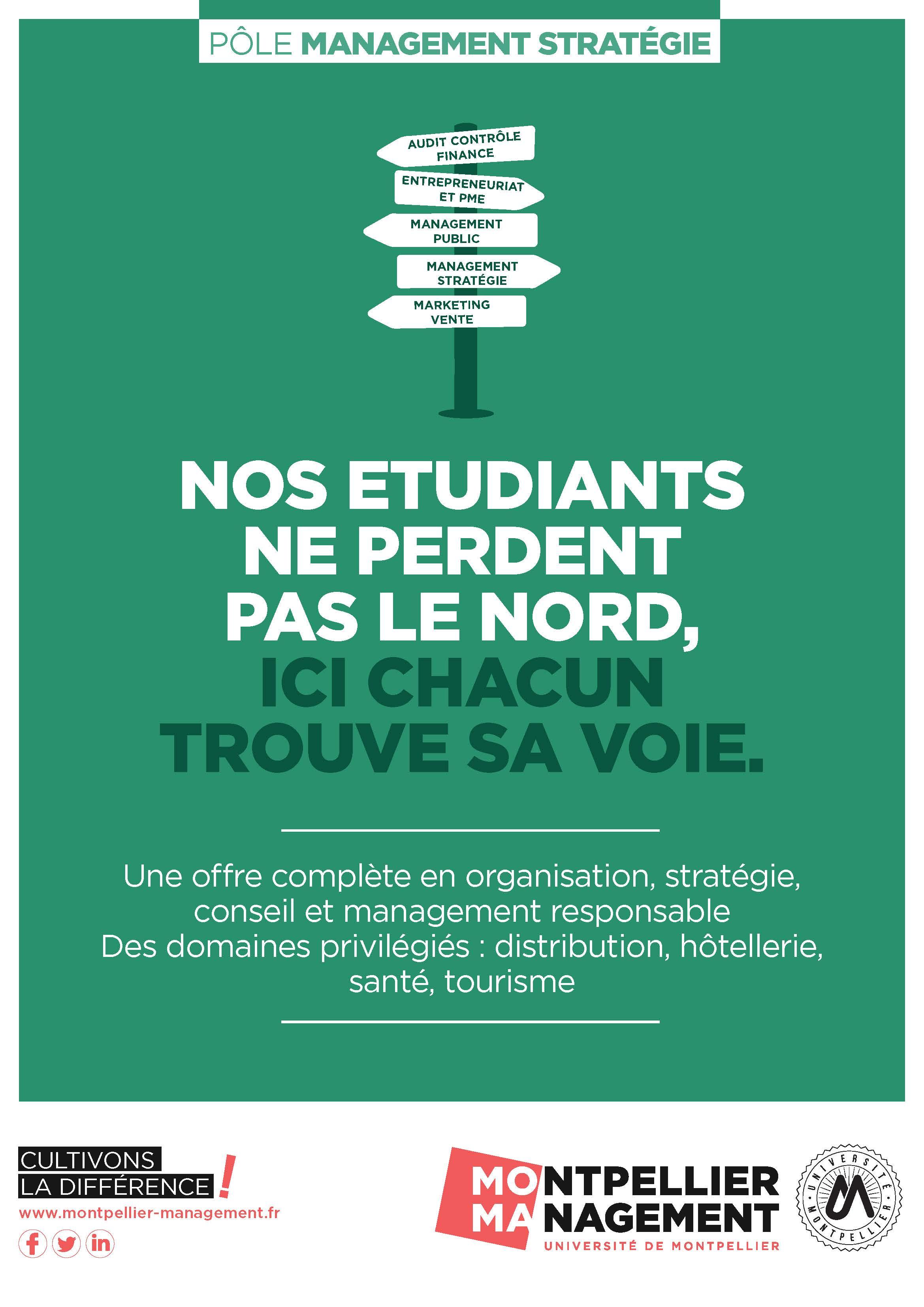 Pole Management Strategie - Montpellier Management