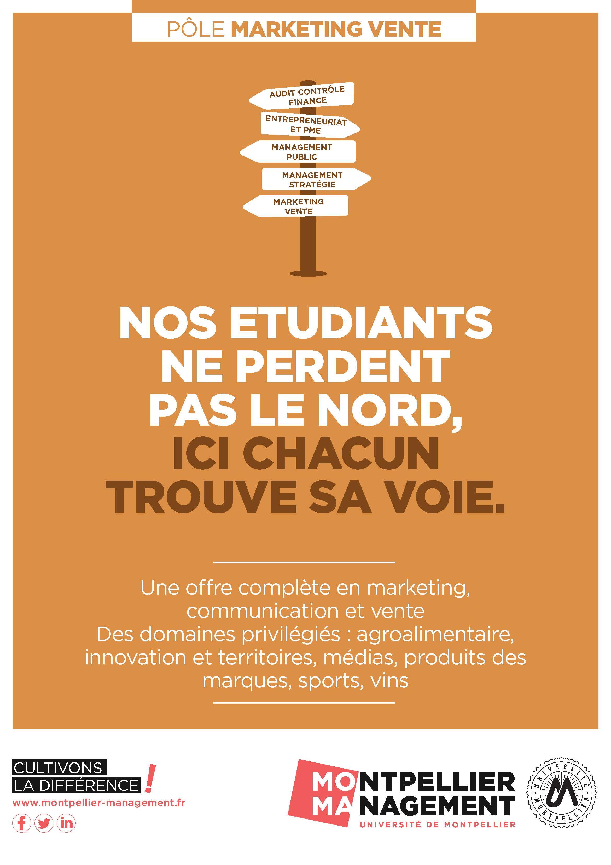 Pole Marketing Vente - Montpellier Management