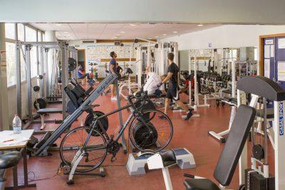 La salle de sport accessible à l'ensemble des étudiants de Montpellier Management