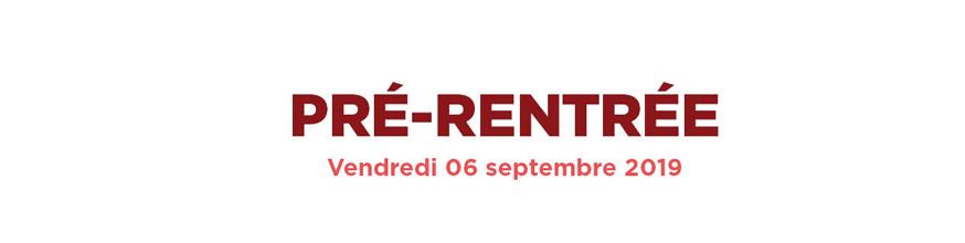 Pré-rentrée 2019/2020 - Montpellier Management