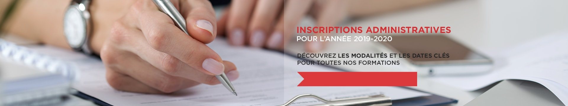 Inscriptions Administratives 2019-2020 - Montpellier Management