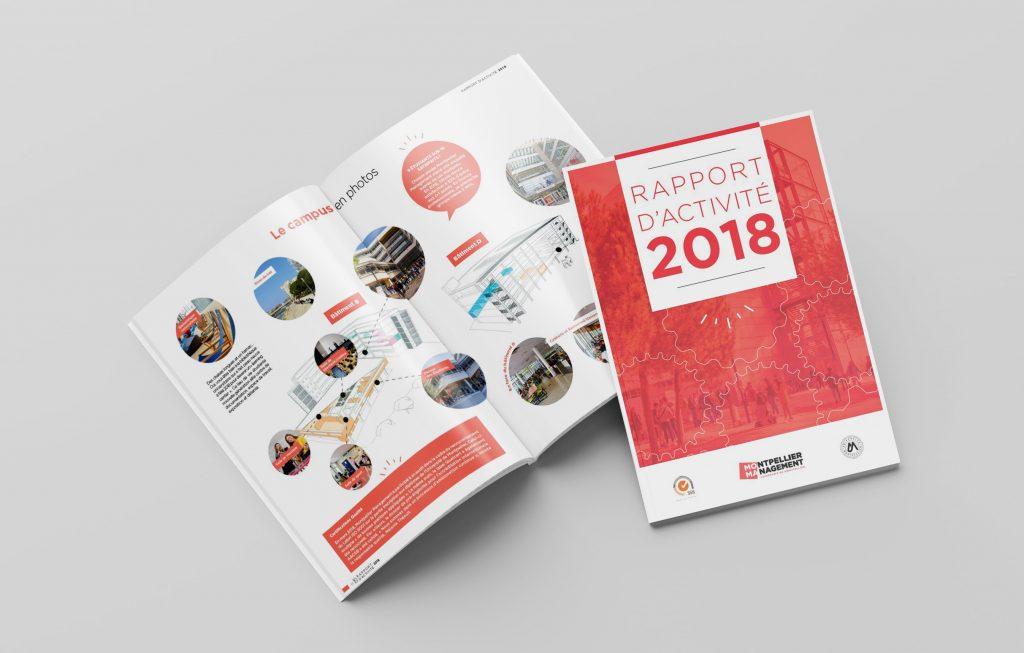 Rapport d'Activité 2018 - Montpellier Management