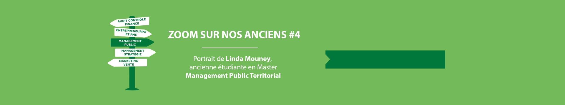 Zoom sur nos alumnis, Linda Mouney Master Management Public Territorial- Montpellier Management