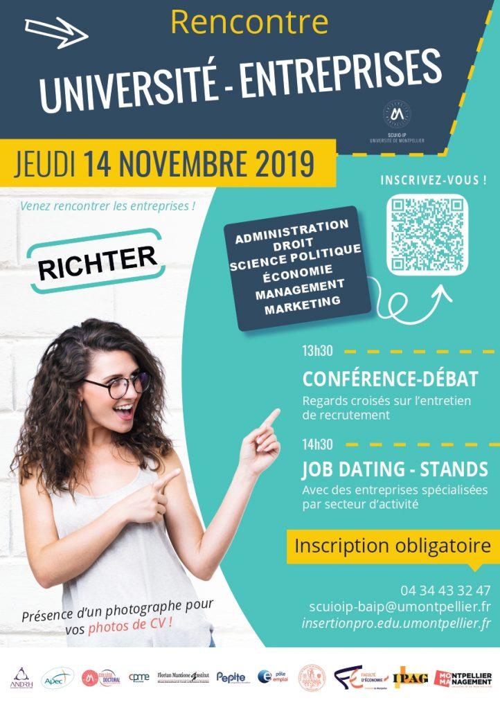 Rencontre Université-Entreprises - Montpellier Management
