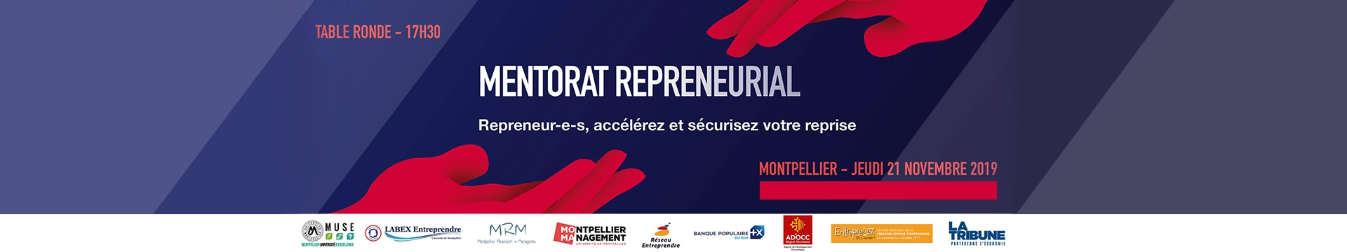 Table Ronde Mentorat Repreneurial - Montpellier Management