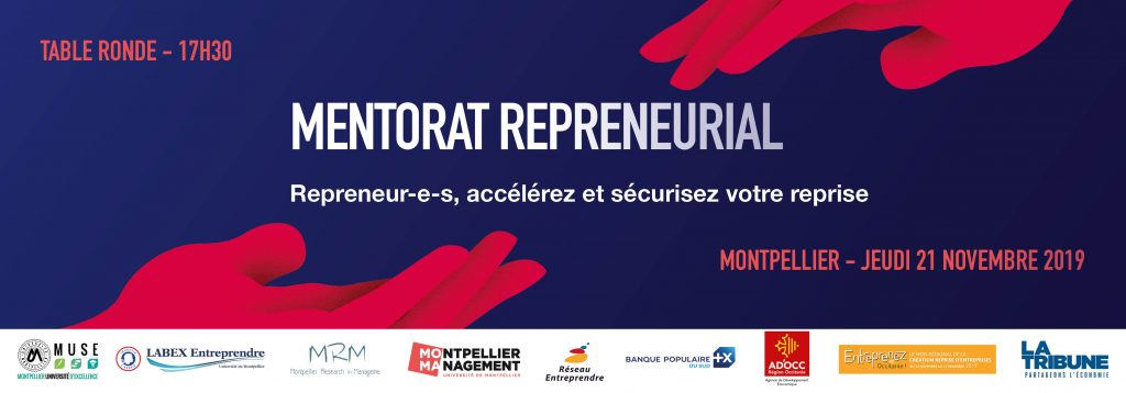 Mentorat Repreneurial - Montpellier Management