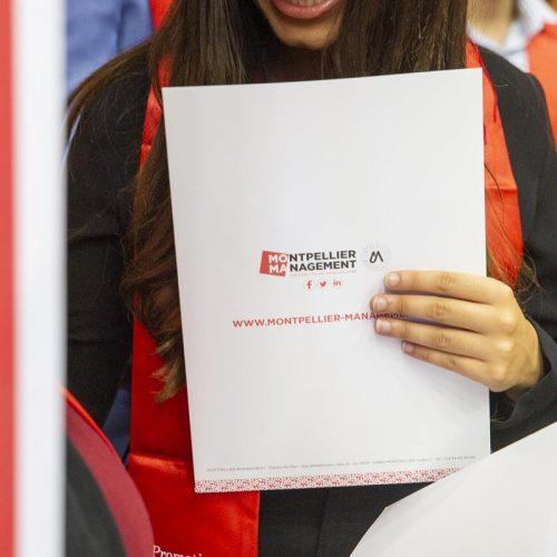 Remise de diplômes Licence Master - Montpellier Management