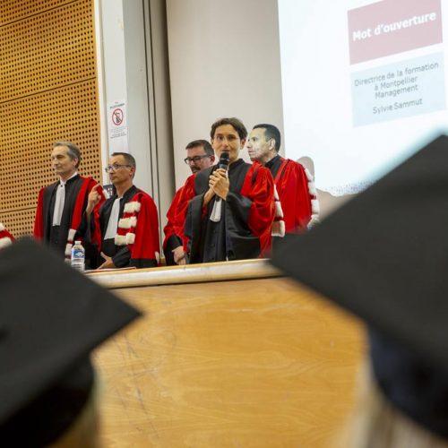 Remise de diplômes Licence Master - Pôle Audit Contrôle Finance- Montpellier Management