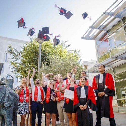 Remise de diplômes Licence Master - Pôle - Pôle Entrepreneuriat & PME - Montpellier Management