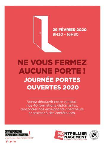 Journées Portes Ouvertes 2020 - Montpellier Management