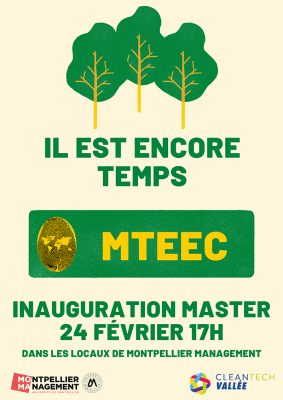 Inauguration Master MTEEC - Montpellier Management