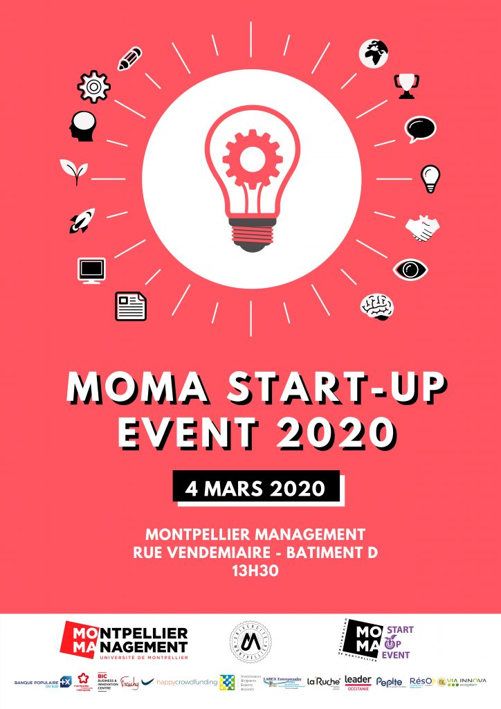 MOMA Startup Event 2020 - Montpellier Management