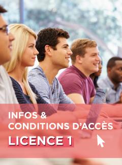 Infos et conditions d'accès Licence 1 - Montpellier Management