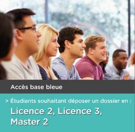Base bleue e-candidat - Montpellier Management