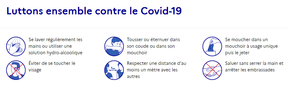 Consignes covid-19 - Montpellier Management
