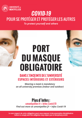 Masque obligatoire - Montpellier Management