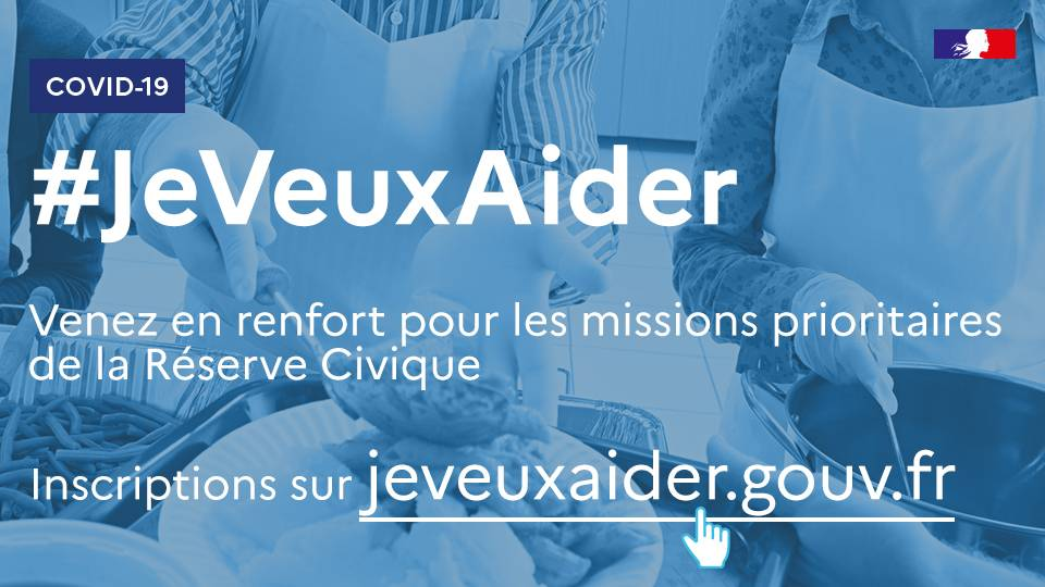 Réserve civique #jeveuxaider