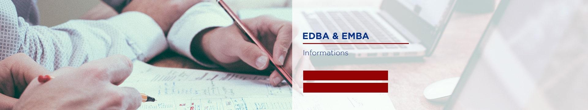 EDBA & EMBA - Informations diplômes établissement - Montpellier Management