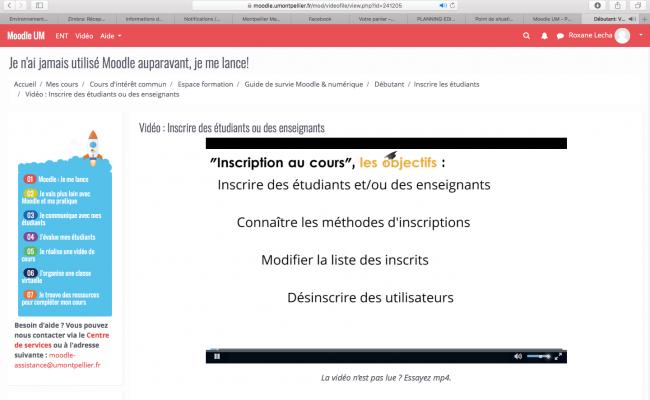 Cours en ligne - Montpellier Management