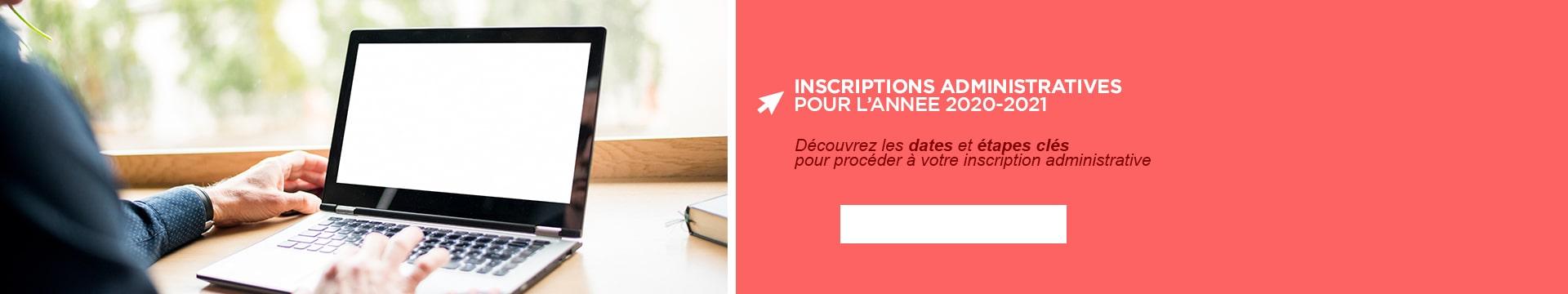 Inscriptions Montpellier Management 2020-2021