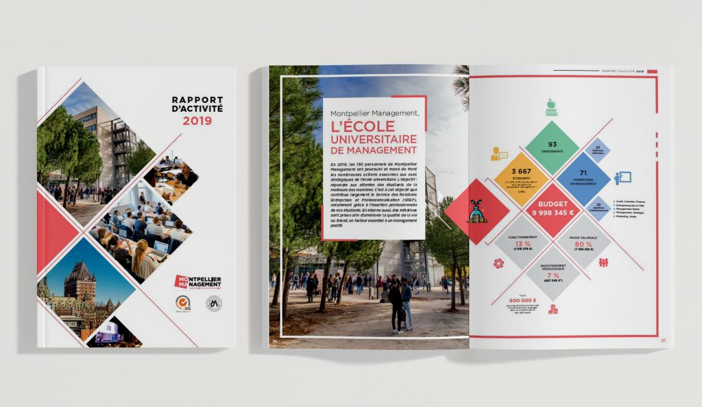 Rapport d'activité 2019 - Montpellier Management