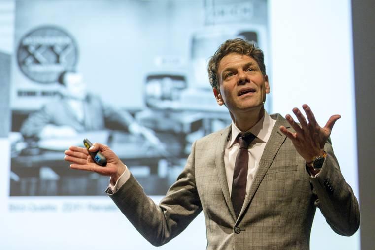 Le Professeur Martin Klaffke à Berlin (c) Claudio Thoma