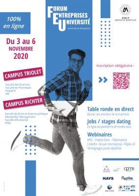 Forum entreprises/université 100% virtuel - Montpellier Management