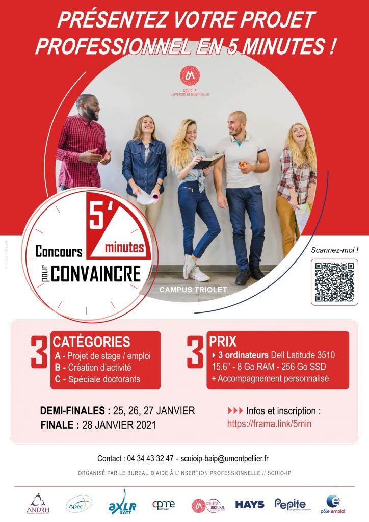 Concours 5 mn pour convaincre - Scuio-ip - Montpellier Management