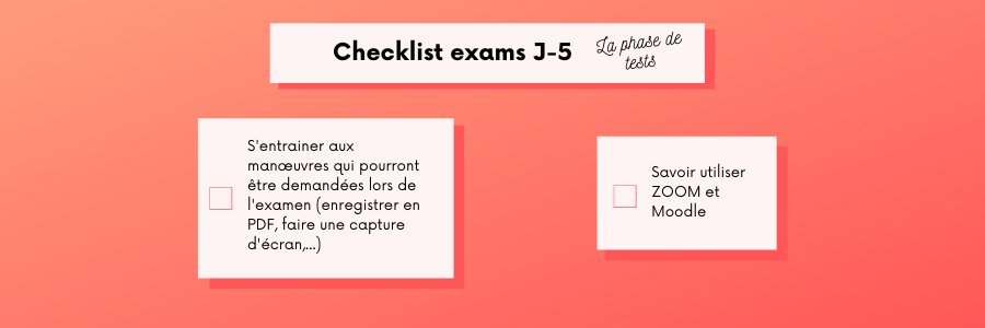 passer ses examens sans stress montpellier management checklist - Montpellier Management