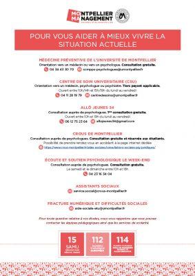 Vous aider à mieux vivre la situation - Montpellier Management