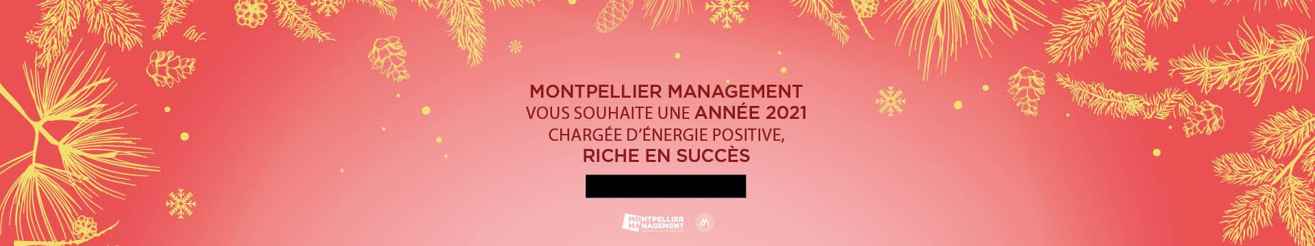 Voeux 2021 - Montpellier Management