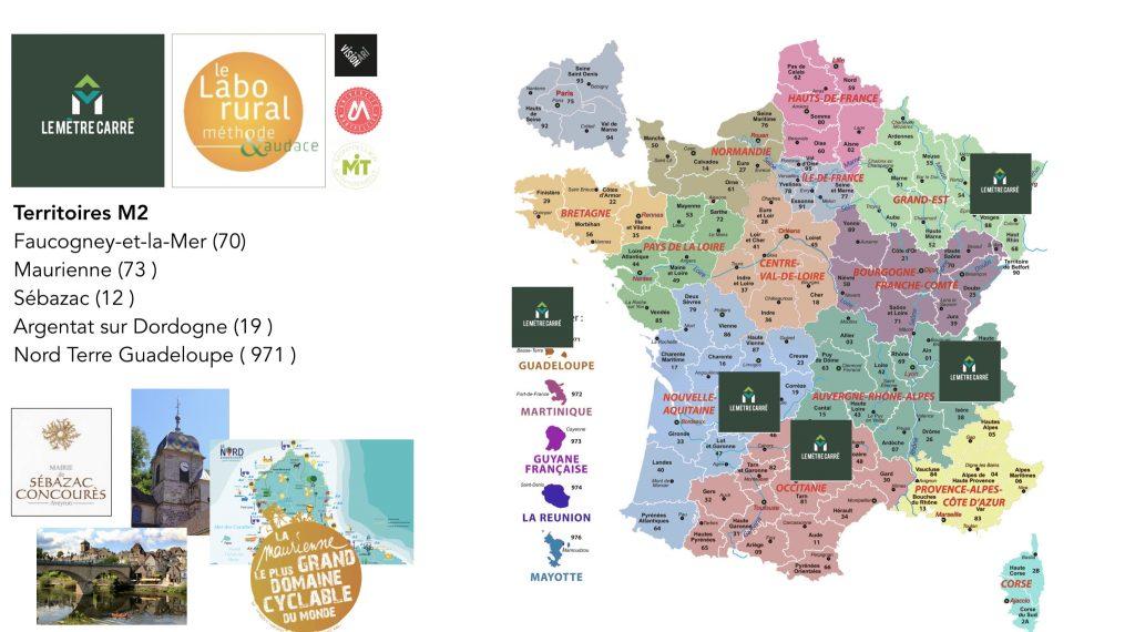 Le Mètre Carré : Initiative pour la ruralité avec les étudiants du M2 MIT - Montpellier Management