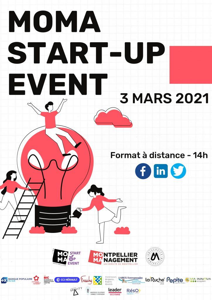 Moma Startup Event 2021 - Montpellier Management