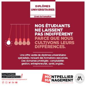 Livret Diplômes Universitaires - Montpellier Management