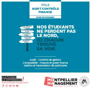 Livret Audit, Contrôle, Finance - Montpellier Management