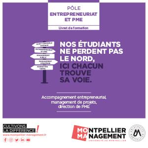 Livret Entrepreneuriat & PME - Montpellier Management