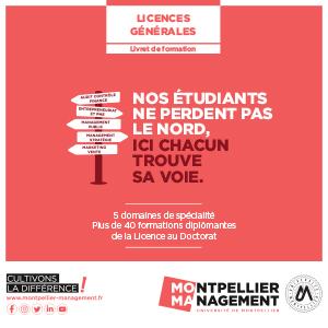 Livret Licences Générales - Montpellier Management