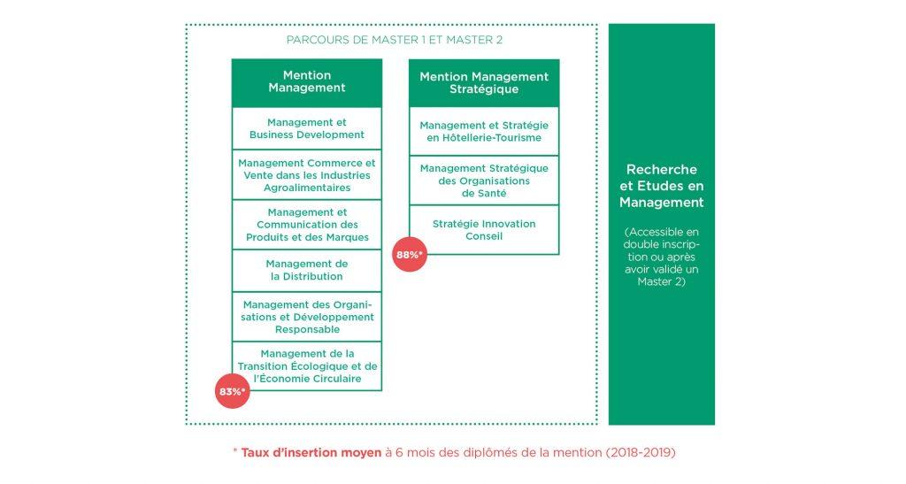 Parcours formation Management Stratégie - Montpellier Management
