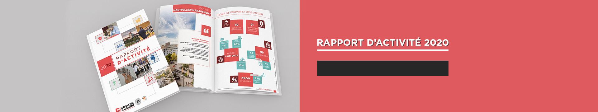 Rapport d'activité 2020 - Montpellier Management